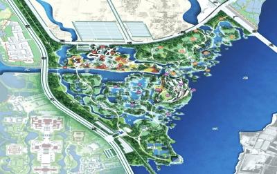 纪南文旅区园博园三套设计方案出炉 你喜欢哪个?