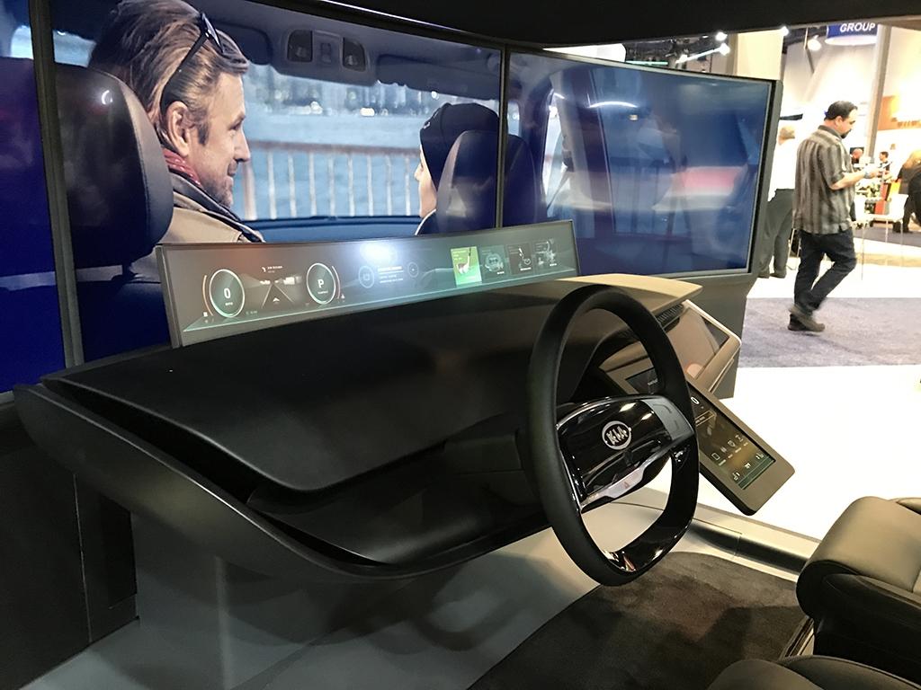整块液晶屏覆盖 起亚发布全新概念中控台