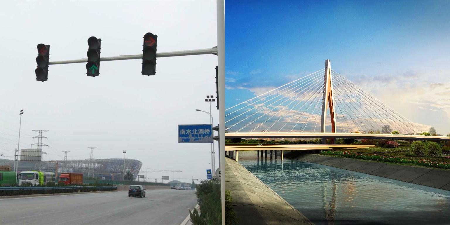 """郑州又有新地标 建成将现""""桥上桥""""奇景"""