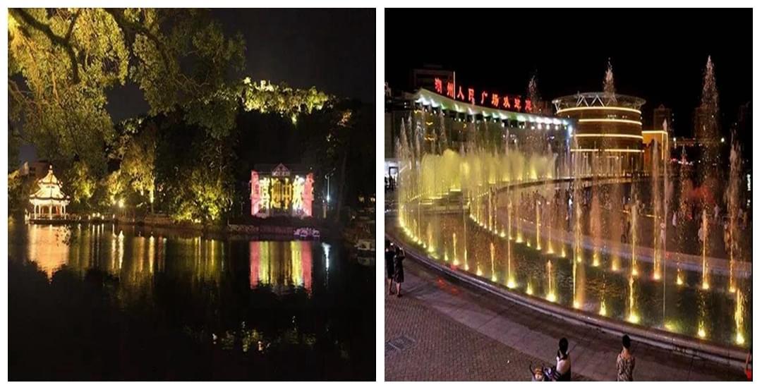"""一起围观西湖亮灯与人民广场喷泉""""首秀"""""""