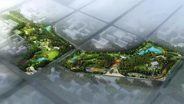 投资1.3亿!荆州这座公园已初见雏形 位置就在……