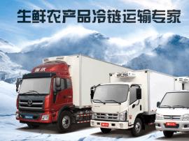 福田时代汽车冷链运输产品助力生鲜农产品运输