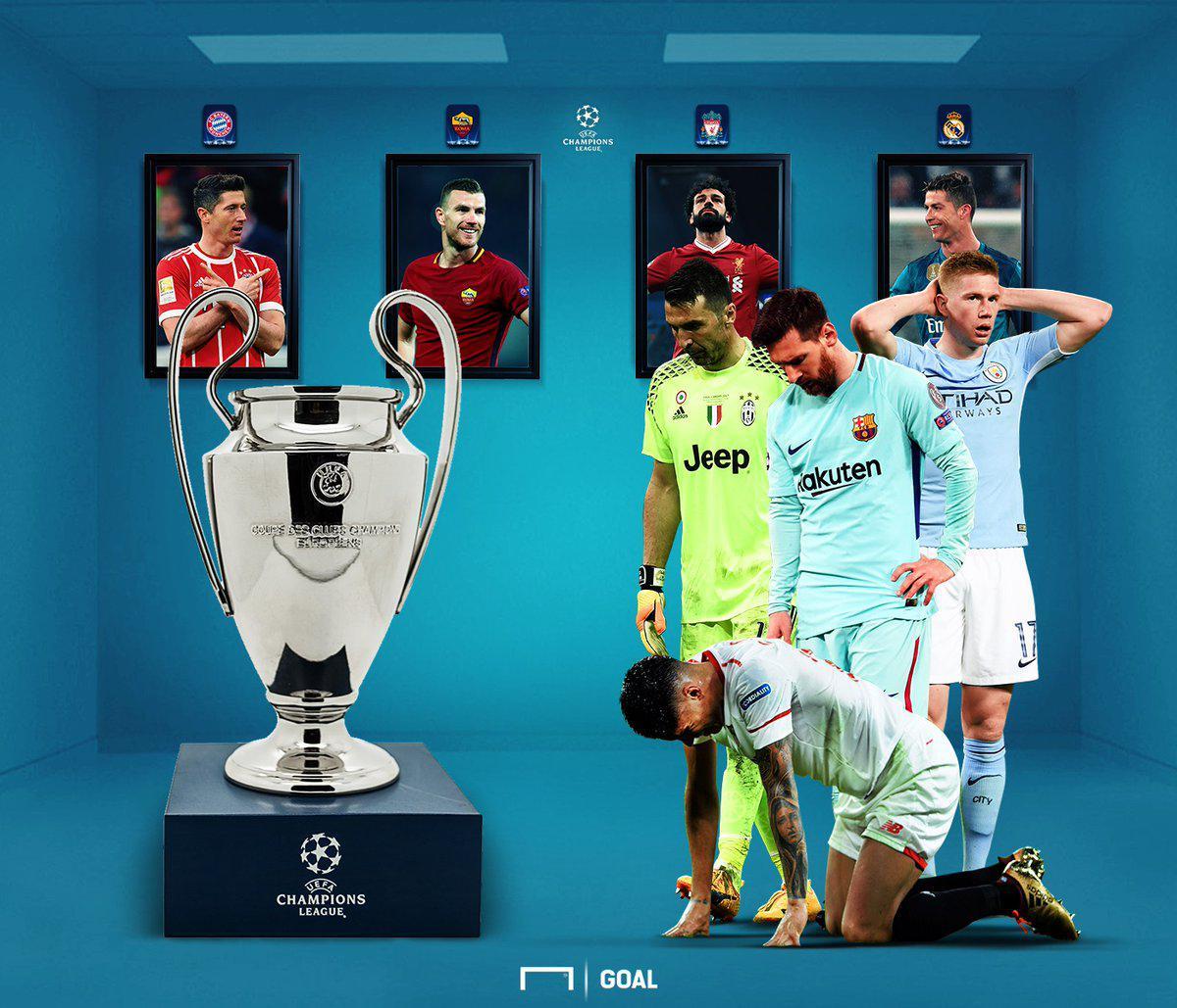 欧冠4强出炉:皇马拜仁领衔 利物浦10年后再进4强