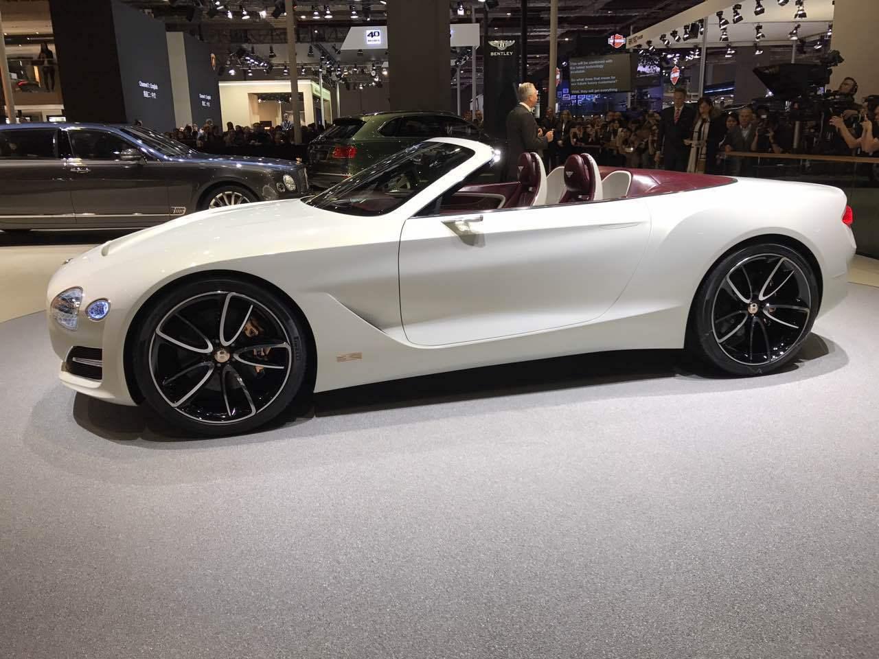 2017上海车展:宾利EXP 12 Speed 6e概念车
