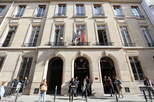 巴黎政治学院大楼(摄影:周成刚)