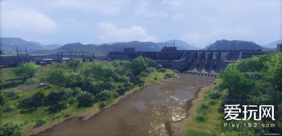 《装甲战争》全新PVP地图曝光 脱胎于巴拿马运河
