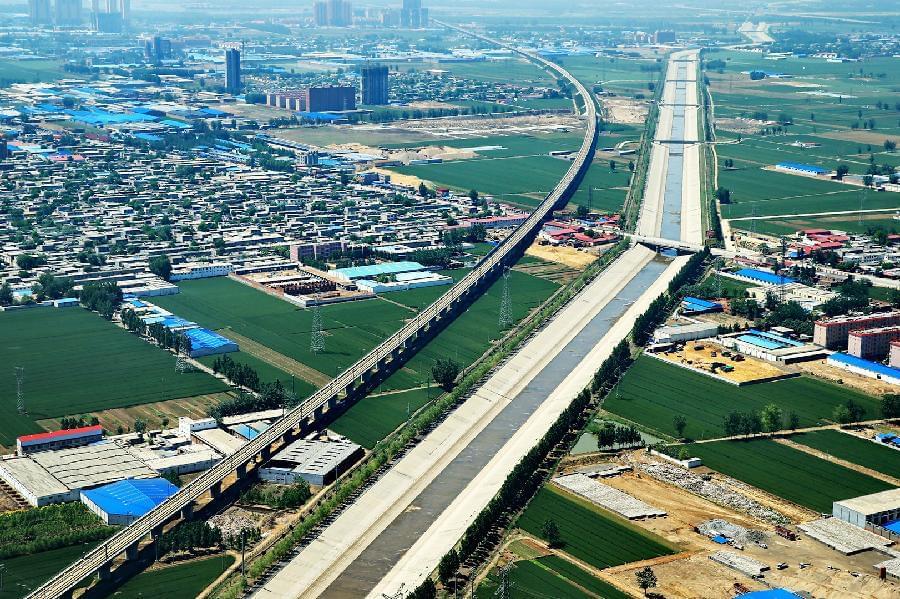 南水北调让北方近一亿人喝上长江水 北京地下水水位回升
