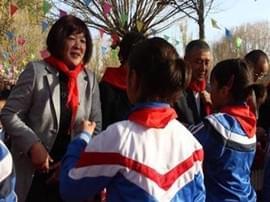 蔡秀梅:牵起南疆和运城的教育缘分
