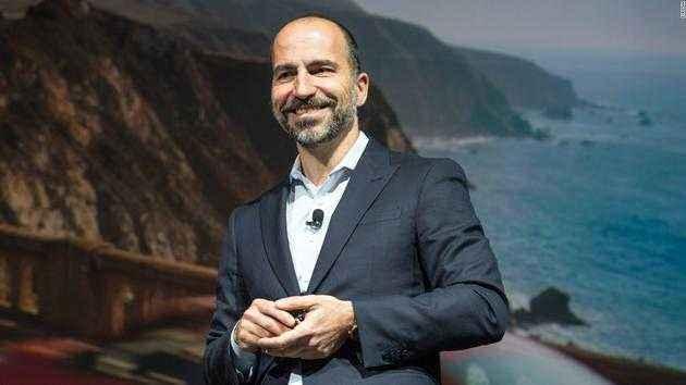 Uber CEO表示自动驾驶测试将很快重启