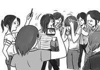 女大学生结伙暴打同学 庭审时跪法官面前求饶