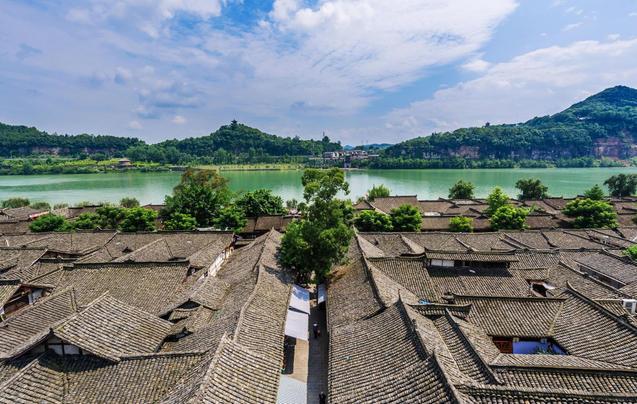 除了成都 这座古城也当过四川省会