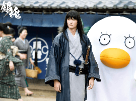 《银魂》日本首周票房近十亿 登顶日本真人电影
