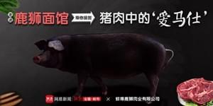 直播:走进鹿狮面馆 品尝猪肉中的'爱马仕'!