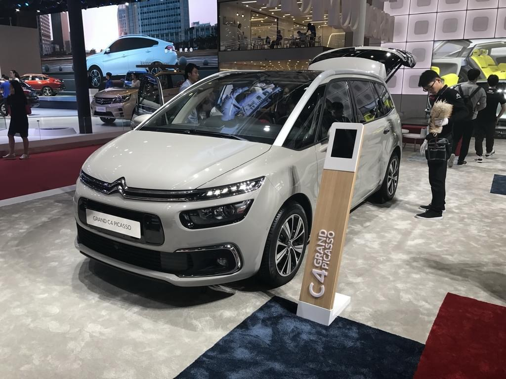 2017上海车展:雪铁龙Grand C4 PICASSO