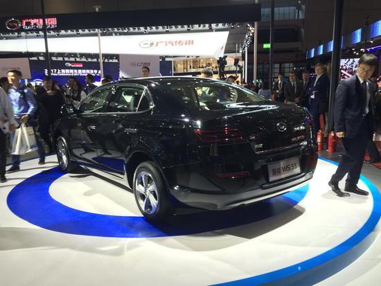 2017上海车展:华泰路盛WS 55sh首发亮相