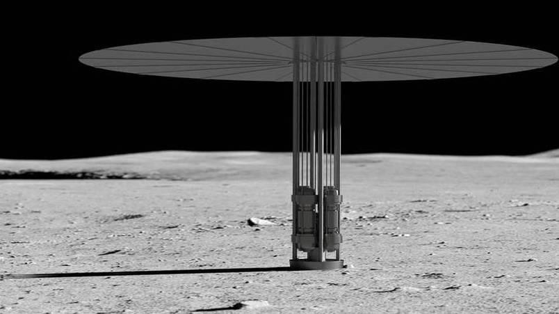NASA或将反应堆送月球 为人类基地供电