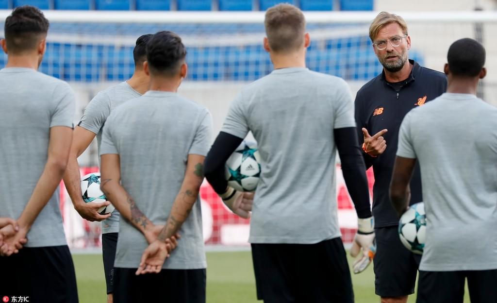利物浦备战欧冠附加赛 克洛普带队重返德国