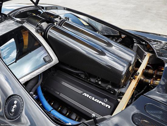 1993年生产的迈凯伦F1即搭载了BMW提供的V12发动机