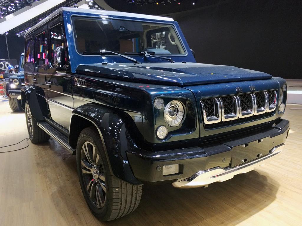 拉普蓝车漆 BJ80珠峰版将于5月27日上市