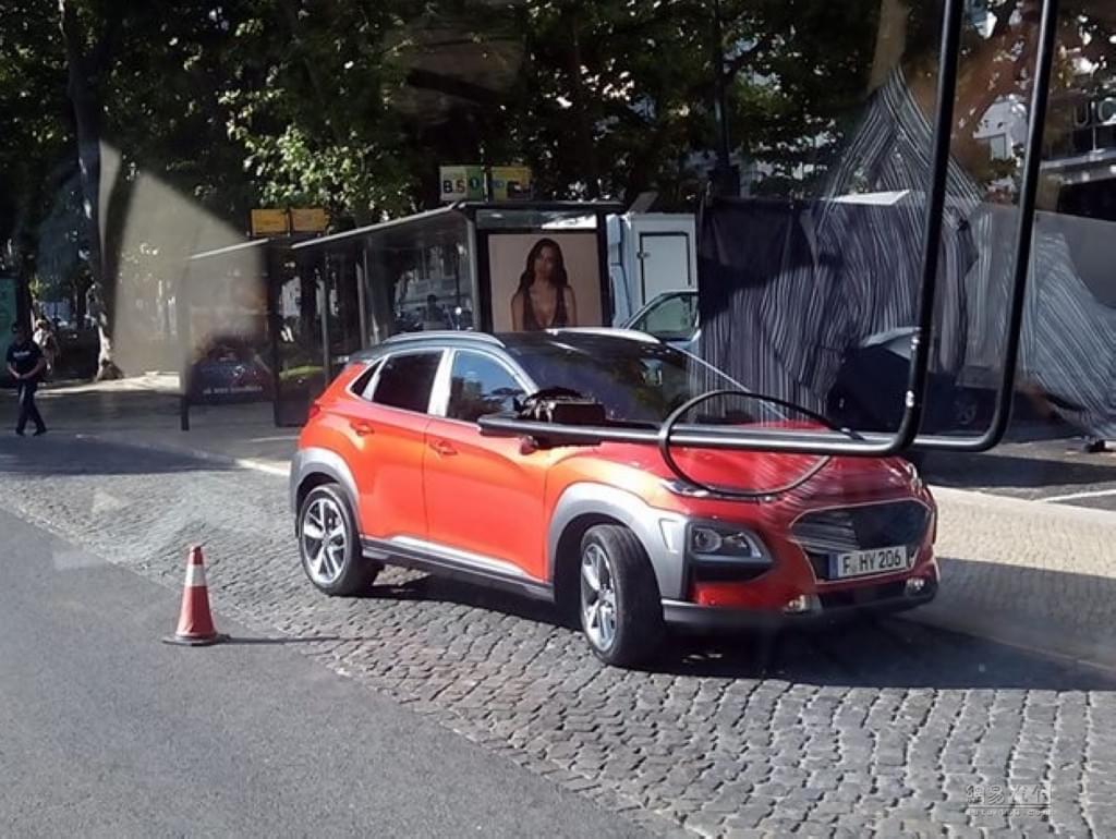 全新小型SUV 现代KONA将在6月12日首发