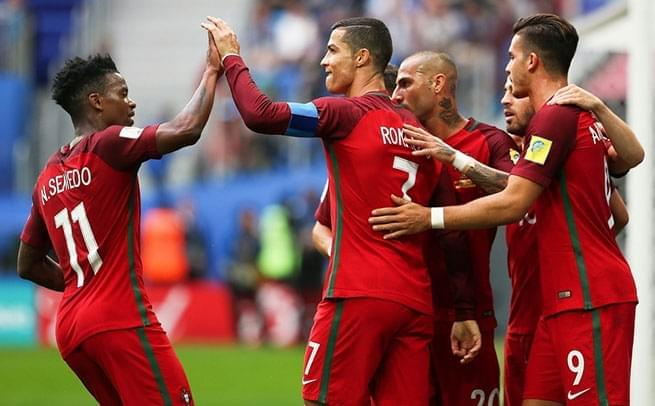 C罗点射首开纪录 葡萄牙4-0新西兰