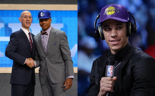 NBA选秀大会:富尔茨状元 球哥榜眼