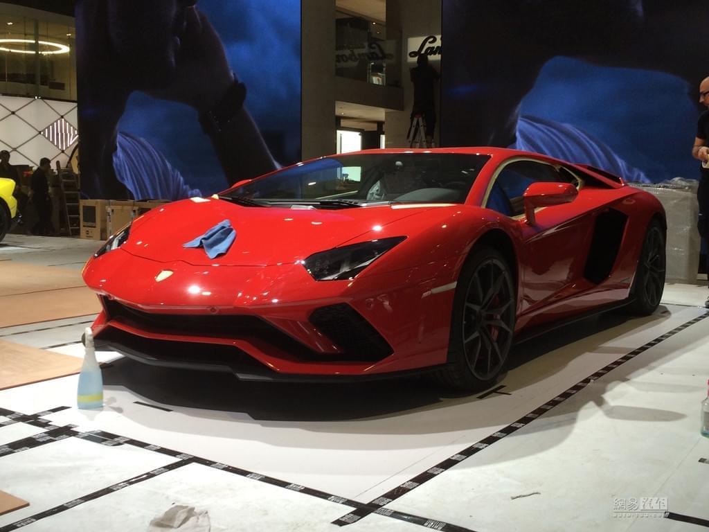 2017上海车展探馆:兰博基尼Aventador S