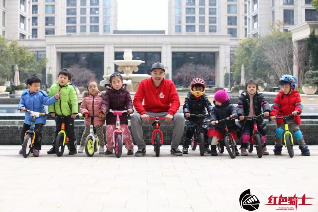 红色骑士联合绿城打造杭城最酷滑步车联盟