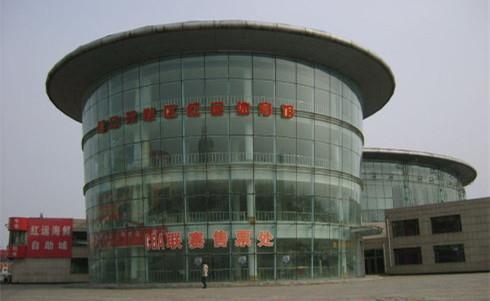 鲅鱼圈红运体育馆外景