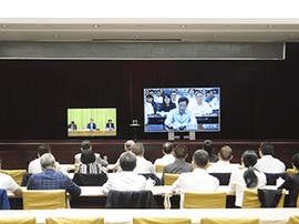 唐山组织收听收河北县(市、区)委书记工作交流会