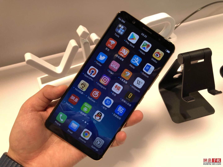 vivo联合新思科技全球首发屏下指纹解锁手机
