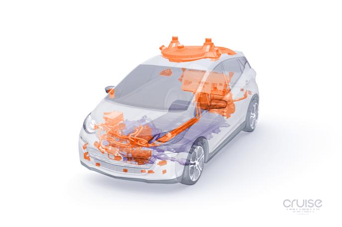 一年推3代样车 通用推出可量产自动驾驶电动汽车