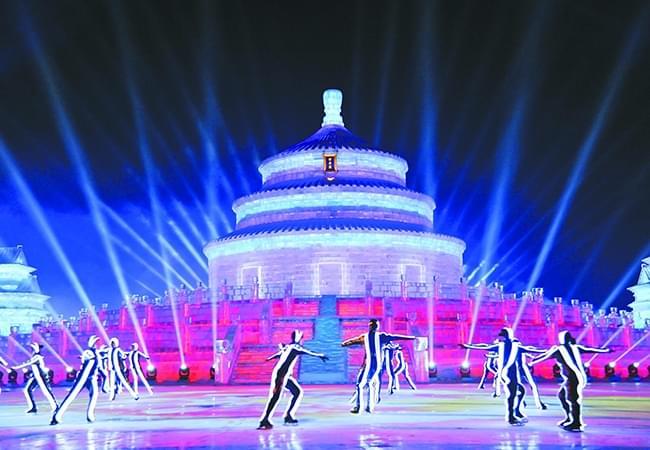 一方冰雪耀神州 万众欢乐在龙江
