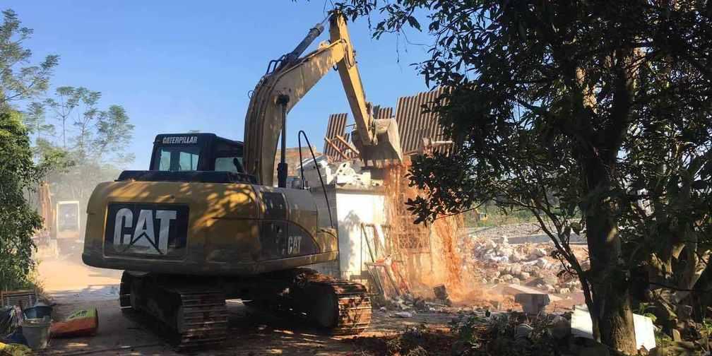 直击江南区法院如何强制腾迁古镇80亩地