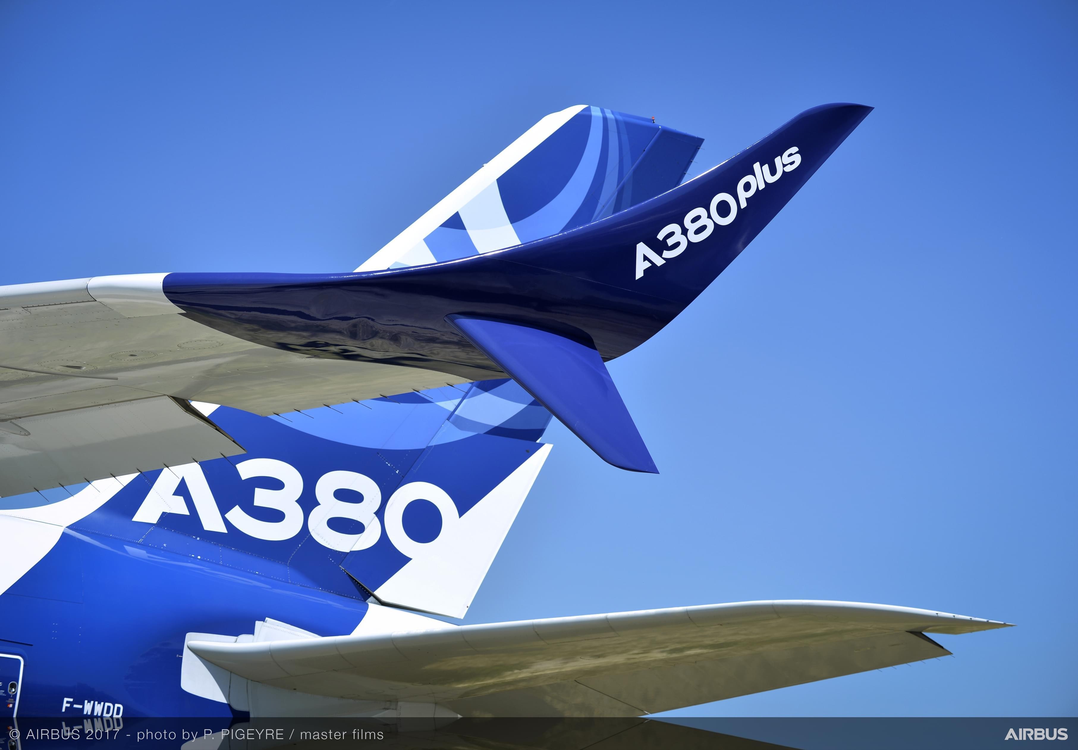 空客推出PLUS版A380 翼尖小翼为最大改变