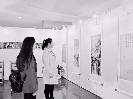 中国经典古画展亮相省图 40余幅作品展出