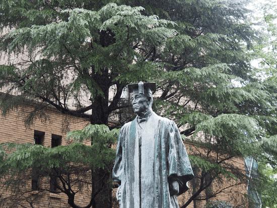 早稻田大学大隈重信雕像