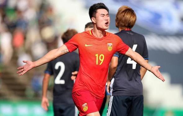 韦世豪传射 U23国足2-1日本获头名