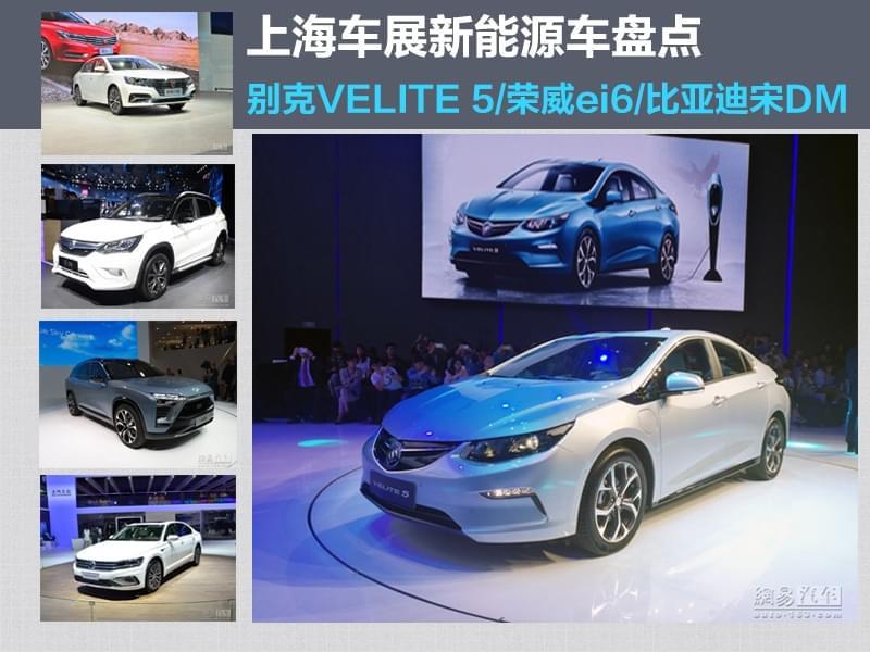 实用派和信仰者 上海车展的那些新能源车