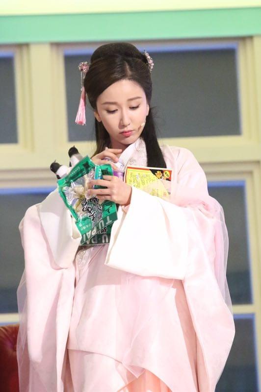 娄艺潇《天天》扮粉嫩仙女 被称表情包产出大户
