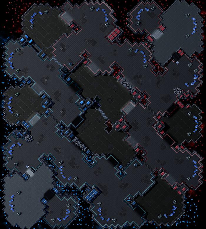 5月15日开启新赛季!星际争霸2第二赛季天梯地图公布