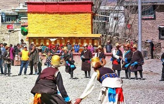 西藏年俗记 那里的人们这样过年!