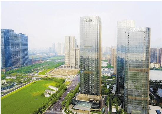 钱塘江金融城打造金融新高地