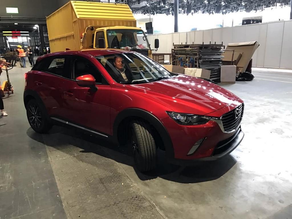 2017上海车展探馆:马自达CX-3实车曝光