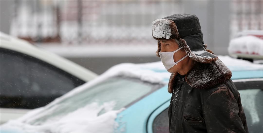 一场大暴雪 在这天气转暖之际到来沈城