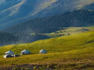 新疆最美的日出奇景 你去过几个?