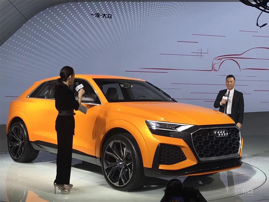 将2018年量产 奥迪Q8 Sport广州车展首发