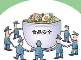 永济城北食药站开展《食品安全法》宣传活动