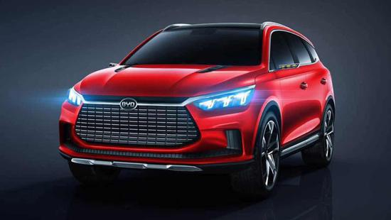 比亚迪王朝概念车惊艳亮相,展现未来设计趋势