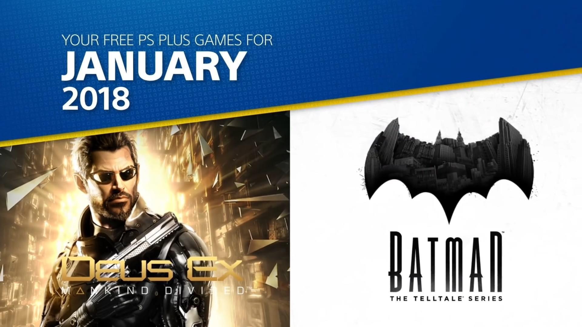 PS+1月会免阵容公布  亚当简森带你杀出重围